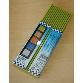 Tapis professionnel en plastique pour sushi - Couleur vert - Hasegawa Makisu