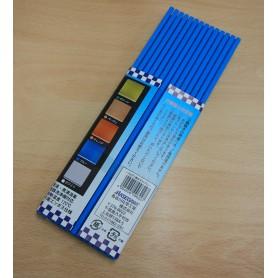 Tapis professionnel en plastique pour sushi - Couleur bleu - Hasegawa Makisu