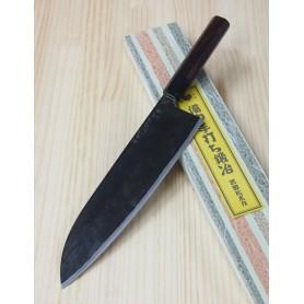 Couteau japonais de Chef Gyuto - Artisanal - TAKEDA HAMONO - Acier Super Blue Steel - Dimension: 24cm