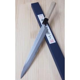 Faca japonesa yanagiba MIURA Série tokujo para canhotos - Tam: 27/30cm