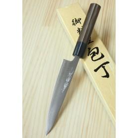 Faca japonesa petty YOSHIHIRO Super blue steel tam:13,5cm