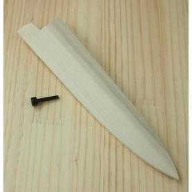 Bainha SAYA de madeira para faca petty - Tam: 12/15cm