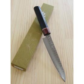 Faca japonesa petty MIURA KNIVES Série Aka tsuchime VG10 tam:15cm