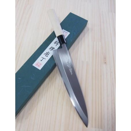 Couteau japonais Mioroshi Deba - YOSHIHIRO - Série Kasumi - Dimension: 21 / 24cm
