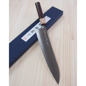 Faca japonesa do chef gyuto MIURA -Série powder steel white handle- Tam:21/24cm