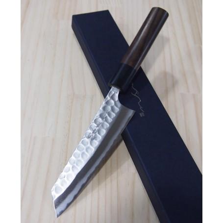 Couteau japonais Kobunka - ANRYU - Série Aogami Tsuchime - Dimension: 12cm