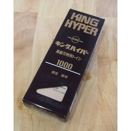 Pierre à aiguiser - Grain: 1.000 - KING - Hyper King