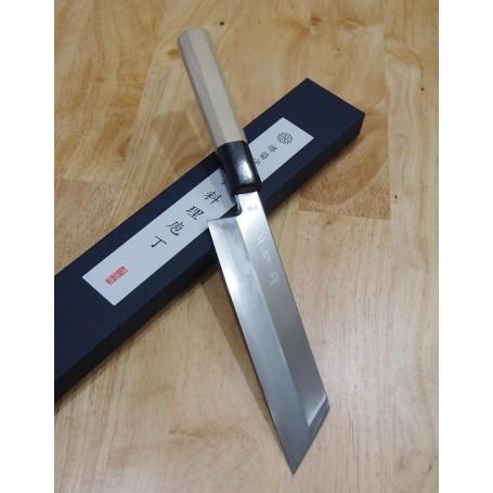 Couteau japonais Mukimono - SAKAI KIKUMORI - Série VG-10 - Dimension: 17cm