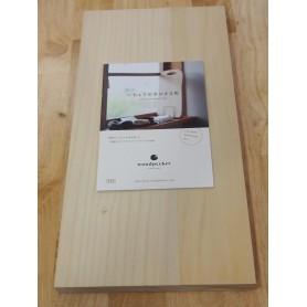 Tábua de corte WOODPECKER Madeira ginkgo tree Tam:45x23x2,5cm