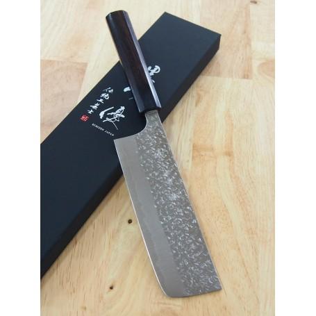 Couteau Japonais Nakiri - YU KUROSAKI - Série Shizuku - Dimension: 16,5cm