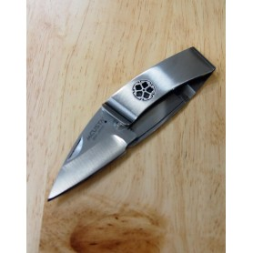 Canivete Mcusta Vg10 Série Pocket clip kamon - Kikyo - 50mm